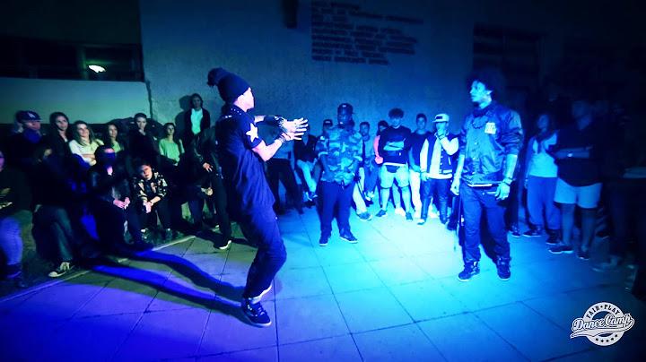 les twins  salah  freestyle session  fair play dance camp 2014