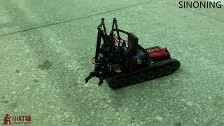 arduino rc PS2 4DOF ROBOT TANK ARM
