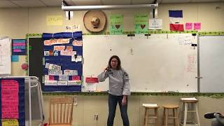 """French one 4th Period - Partner Speaking Assessment """"Game"""" - 2/23/2018 (First Time Ever Played)"""