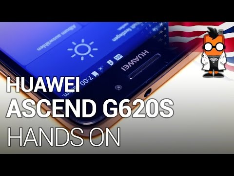 Huawei Ascend G620S hands on - Cheap 64-Bit-Smartphone with 5-inch screen