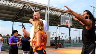 WWE and Special Olympics Host first ever Play Unified Bocce Tournament