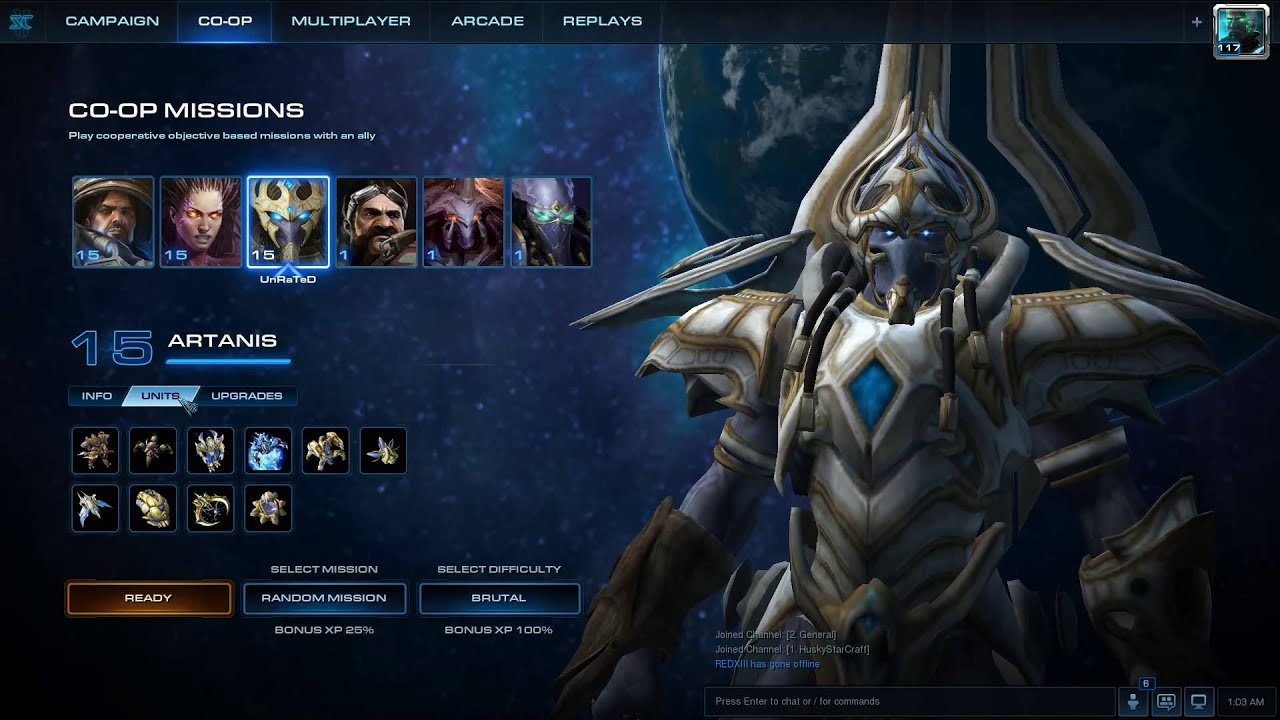 how to play artanis coop