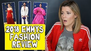 2018 EMMYS FASHION REVIEW // Grace Helbig