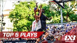Top 5 plays - Lausanne - 2016 FIBA 3x3 World Tour