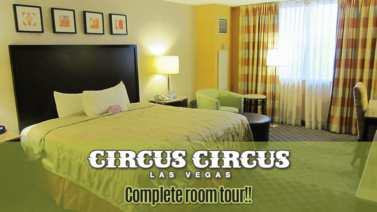 circus circus casino tower deluxe room