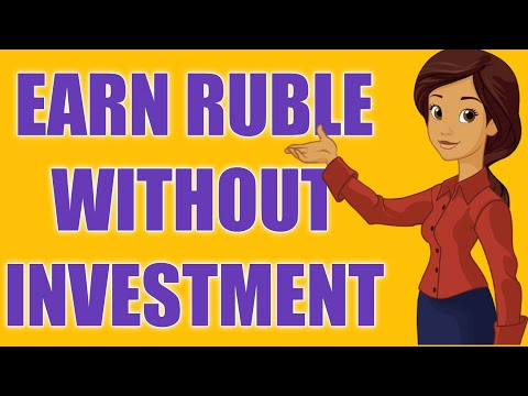EARN RUBLE WITHOUT INVESTMENT | INSTANT PAYOUT PAYEER AND QIWI WALLET