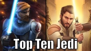 Top 10 Jedi (Results) - Star Wars Top Tens thumbnail