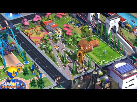 SimCity BuildIt University Campus Park