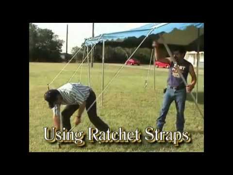 & Ratchet Straps for Ohenry Tents - YouTube