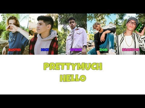 PRETTYMUCH Hello Lyrics