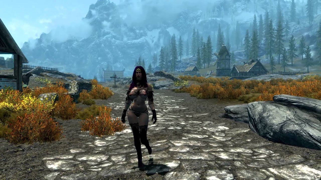 Penelope of Whiterun - Aradia Lace Outfit by ROC 1961