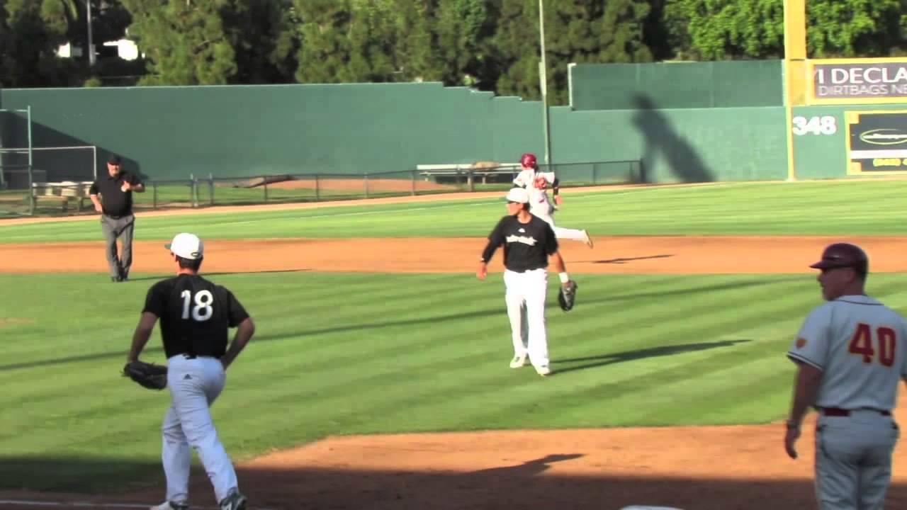 High School Baseball: Long Beach Wilson vs. LB Poly - YouTube