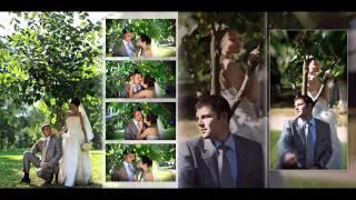 Свадебная фотокнига Владимира и Ольги