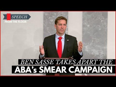 Ben Sasse Takes Apart the ABA