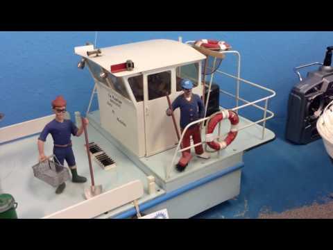 RC Barge La Pauline Mini Nautic 55
