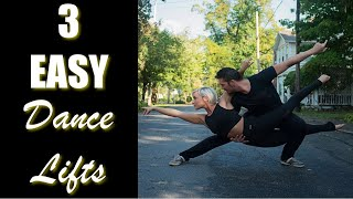 3 Easy Dance Lifts! (Partnering tips)