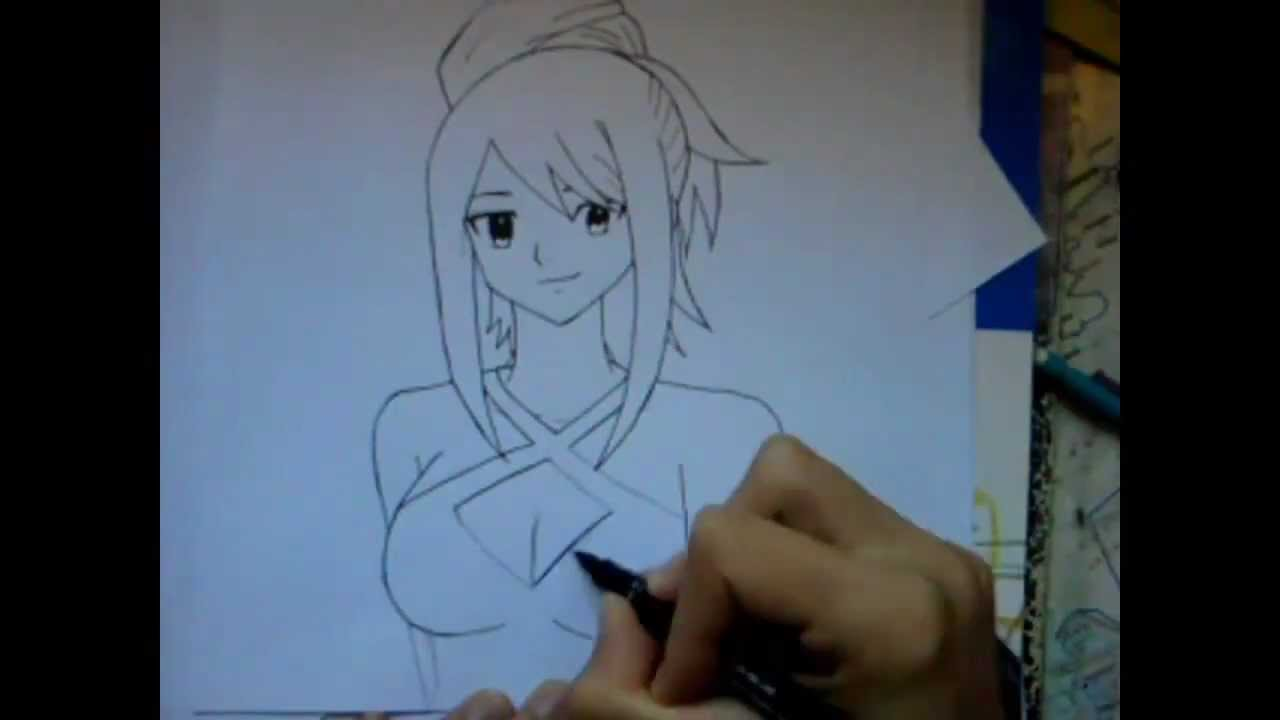 Speed Draw Erza Scarlet