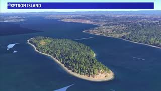 Where is Ketron Island?