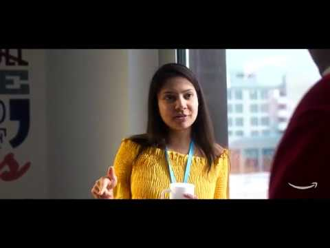 Life at Amazon Finance, Luxembourg. Meet Adya.