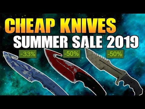 CS:GO - Best CHEAP Knives To Buy DURING Steam Summer Sale 2019 (~50€ KNIVES)