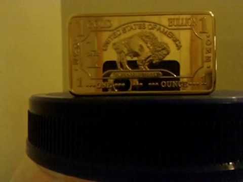 100 Mills Gold Bar