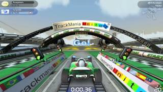 TrackMania Nations Forever Gameplay [PC, HD]