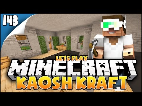 KaoshKraft SMP - Let's Play EP143 - Furnishing & Update