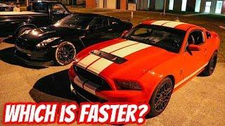 GT500 vs E85 Bolt On GTR
