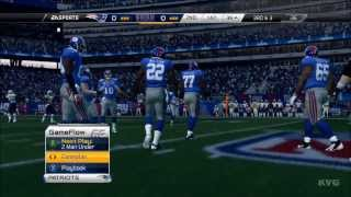 Madden NFL 25 - New York Giants  vs. New England Patriots Gameplay [HD]