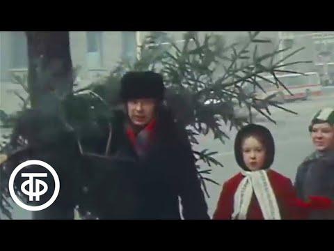 Москва предновогодняя. Об итогах прошедшего года. Эфир 31.12.1979