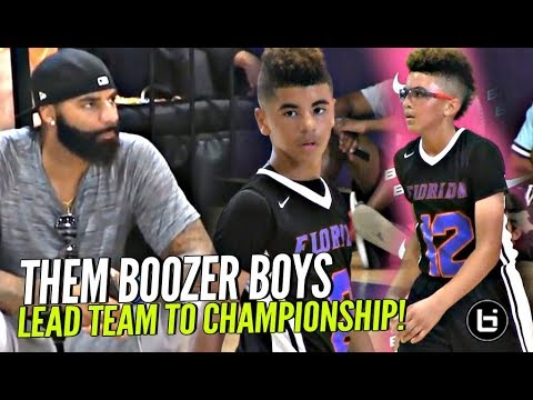 CARLOS BOOZER'S Sons Can PLAY! Cayden & Cameron Boozer Lead Team To Championship!