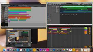 Ableton Live 10 - Bitwig Studio 2.3 - Logic Pro 10.4 - Deep House Template