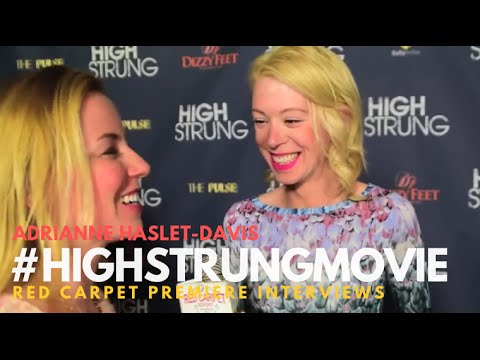 """Adrianne Haslet-Davis #BostonStrong at the Red Carpet Premiere for """"High Strung"""" #HighStrungMovie"""