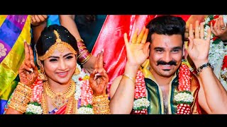Aww! Myna Nandhini – Yogi Cute Marriage Video | Yogeshwaran Nayagai, Aranmanai Kili | Vijay Tv