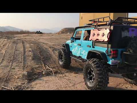Traxxas TRX4 | New Bright Rubicon JK | Let's Off-Road 1/2