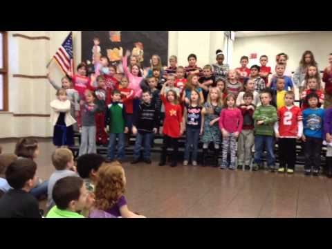 Ella Canavan Elementary School 2nd Grade Thanksgiving Program