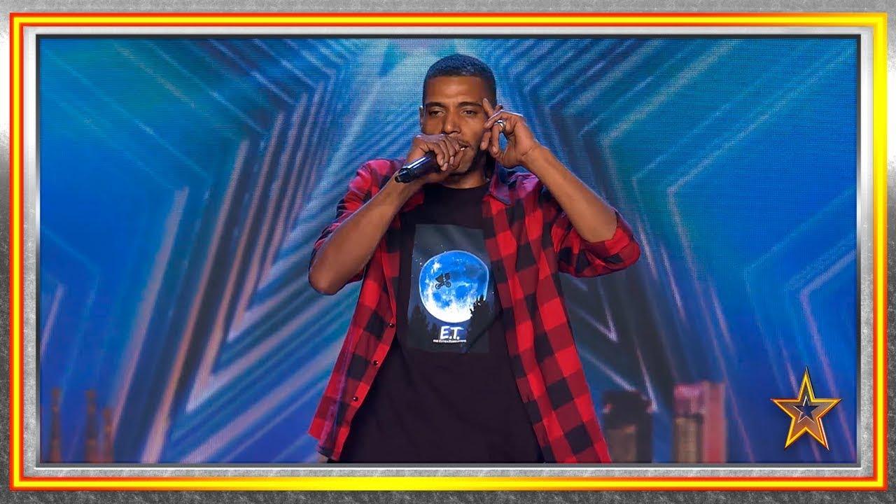 Tras 2 años de prisión y depresión, ahora brilla con su rap | Audiciones 4 | Got Talent España 2019