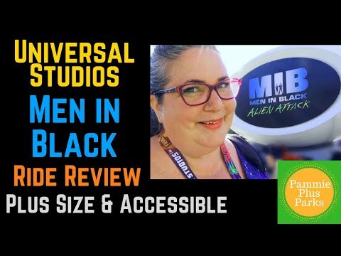 Men In Black - Ride Review - Plus Size & Accessible