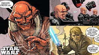 Darth Vader and the Jedi who RE-EXECUTES ORDER 66 ON EVERYONE (CANON) - Star Wars Comics Explained