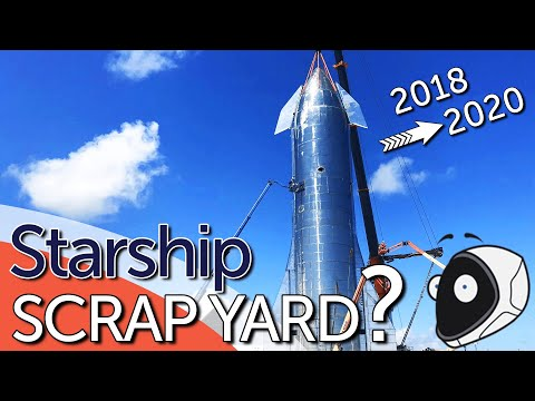 SpaceX Starship - Why are they building it in a scrap yard?