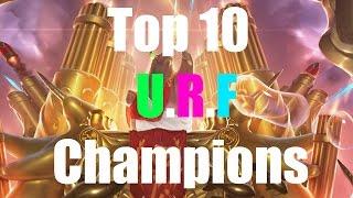Top 10 Funny U.R.F Champions 2015