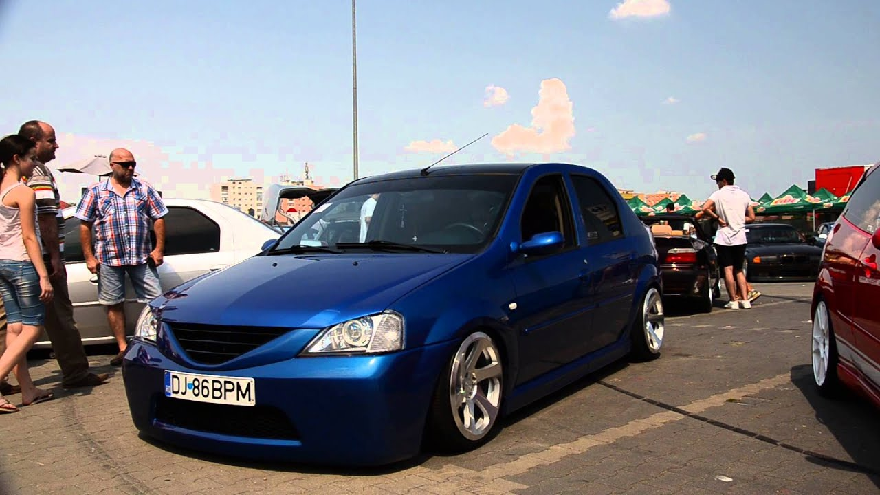 dacia logan bpm airride tuning concave wheels youtube. Black Bedroom Furniture Sets. Home Design Ideas