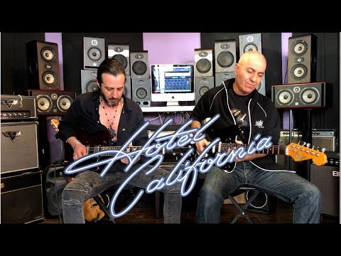Hotel California(The Eagles) Guitar Solo Cover Version / Shmulik Budagov & Rafael Cohen