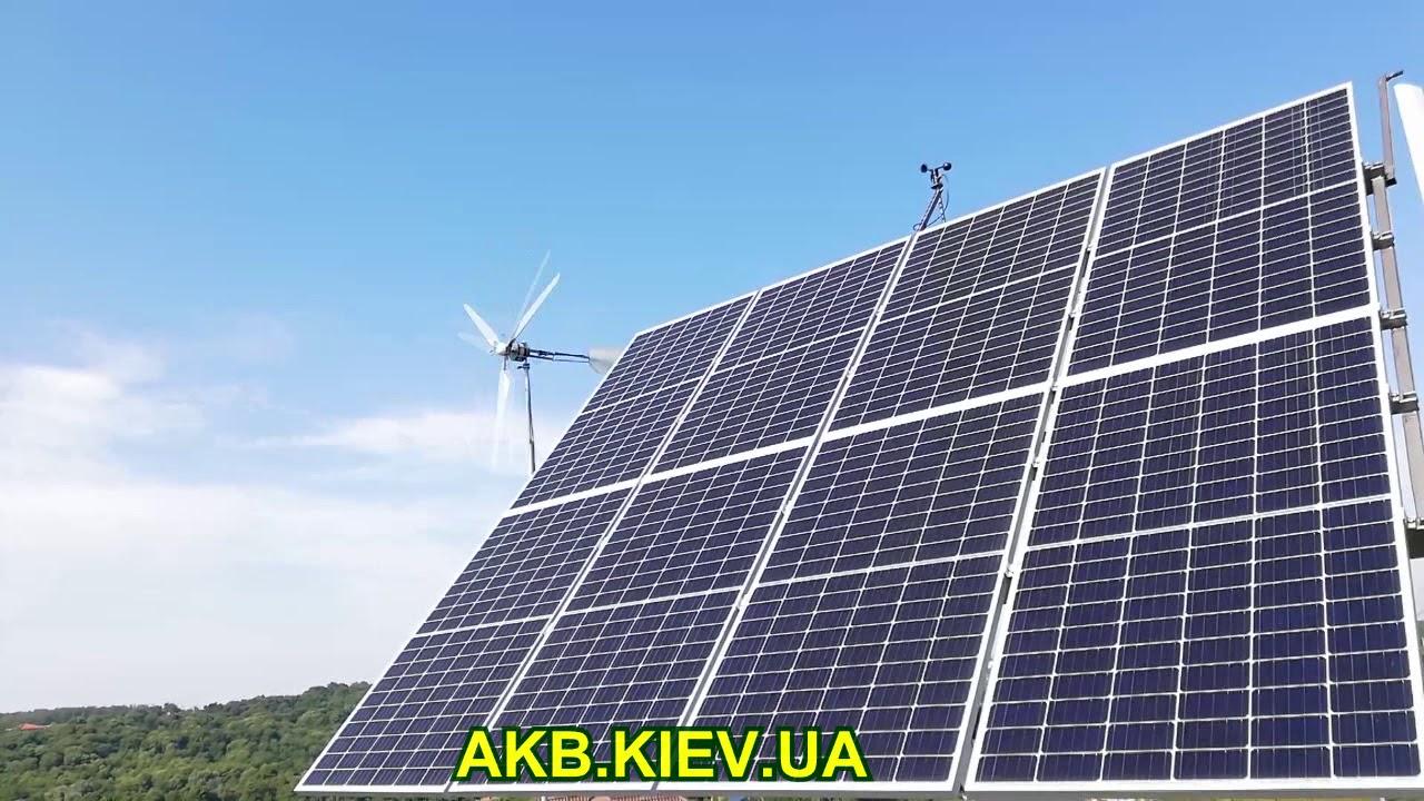 Что лучше, солнечные панели или ветрогенератор?