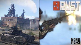 Tank Patlattık , M249 Çıktı / Rust Survival Türkçe Emek