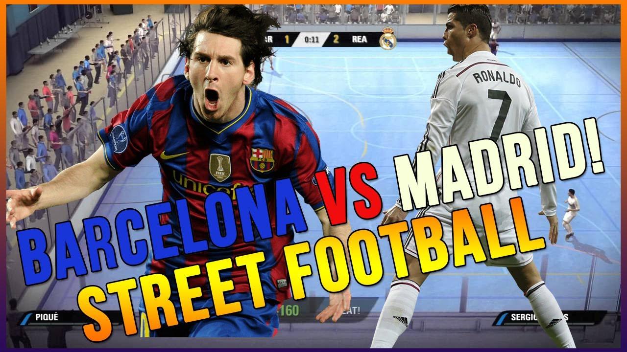 FIFA STREET 4 - THE REMATCH BARCELONA VS REAL MADRID