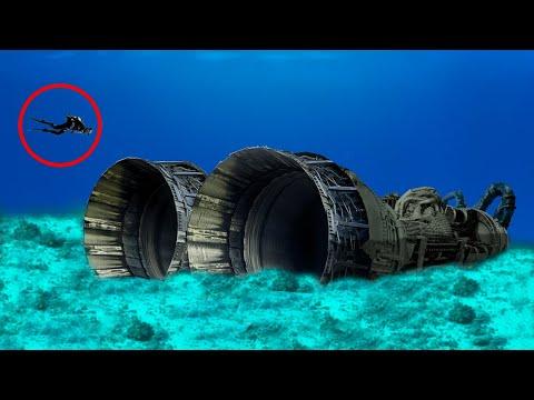 9 CRAZIEST Things Found Underwater!