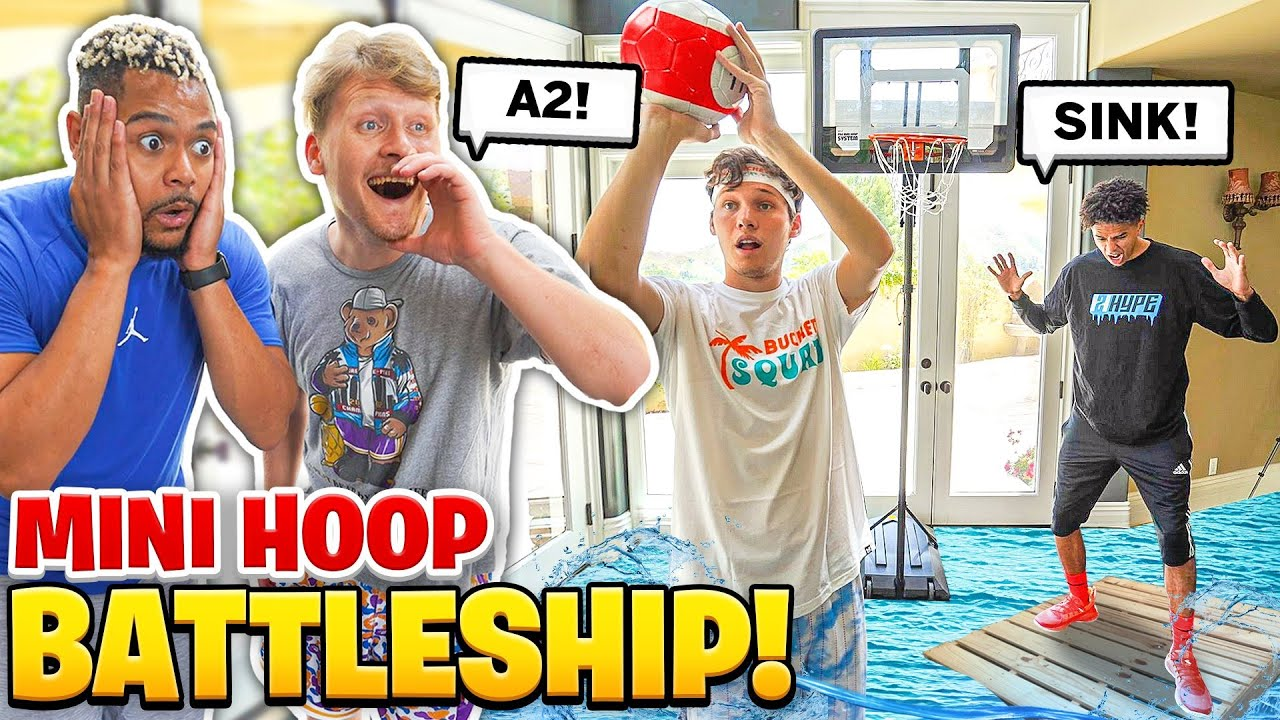 Insane 3v3 Mini Basketball Battleship!
