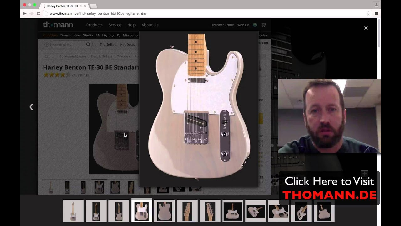 Buying a Harley Benton Guitar in United States (Or Elsewhere Globally)