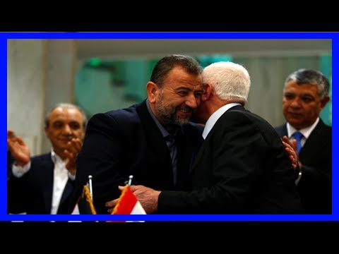 Rival palestinian factions hamas and fatah reach unity plan after 10-year split